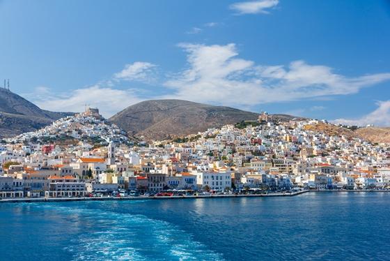Syros Island - St George hill