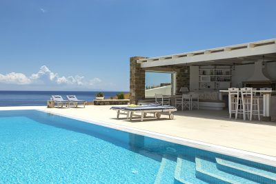 greek villas with pools to rent