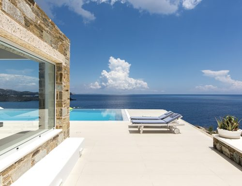 A beach holiday in a greek luxury villa is ideal