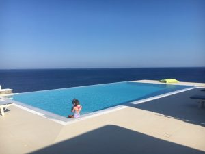 Villa Ampela - young visitor